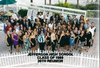 20 Year Reunion Class Photo